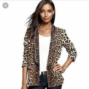 Juicy Couture Leopard Blazer